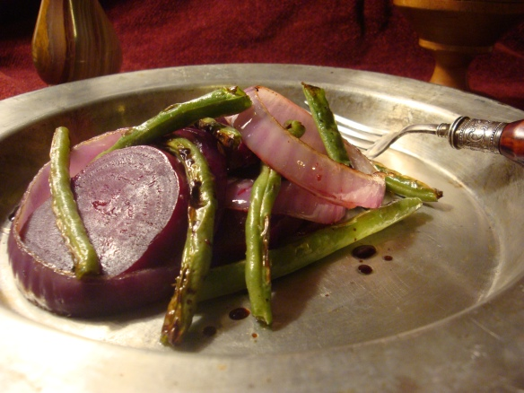 Salad Of Green Beans Onions And Beets The Inn At Crossroads