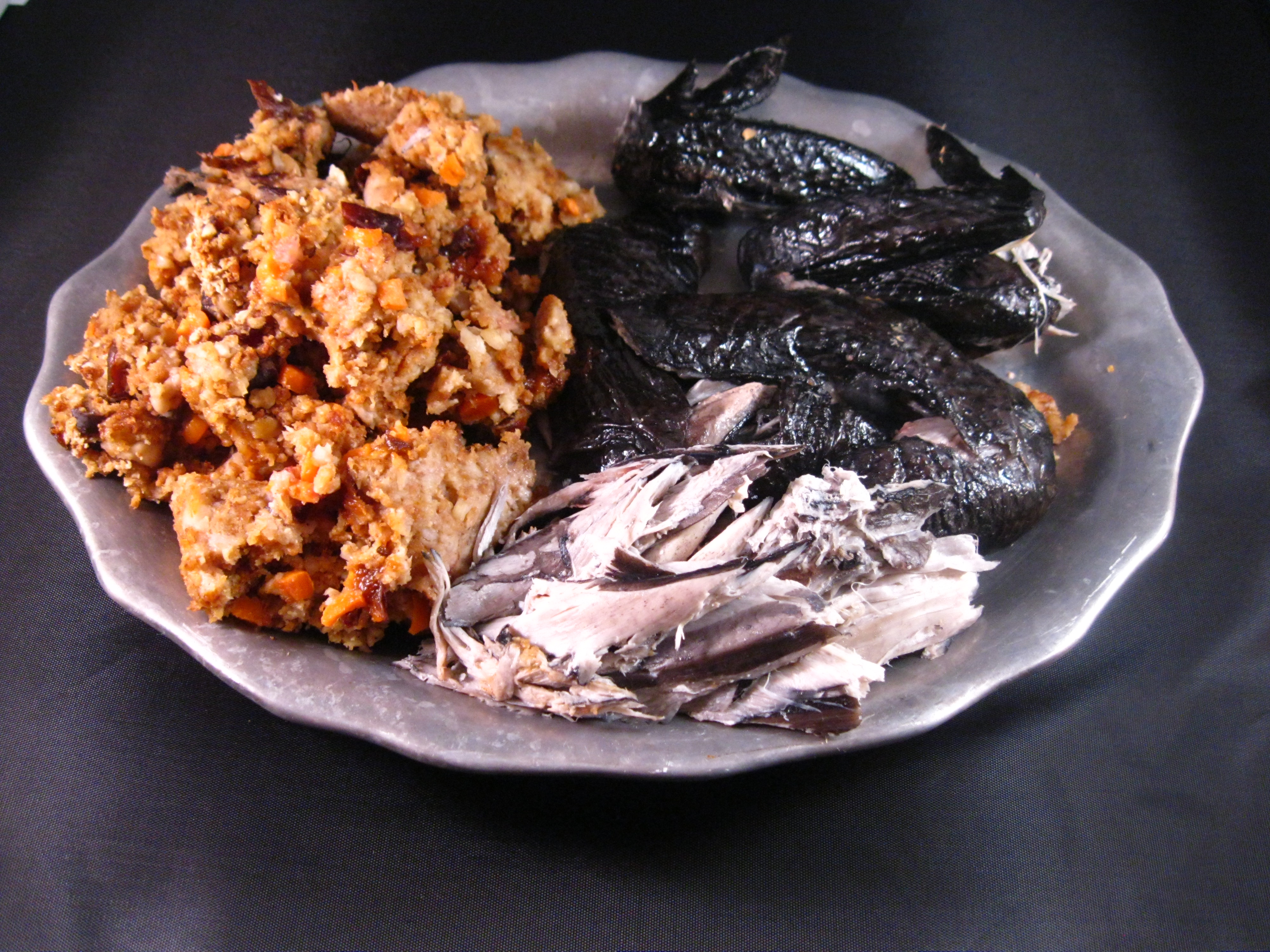 Meat with prunes. Chicken Cooking Recipe 86