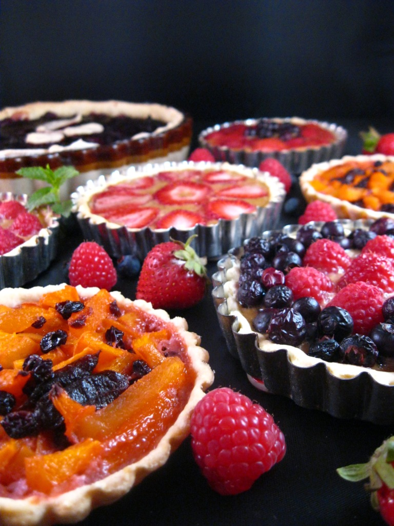 medieval fruit tarts